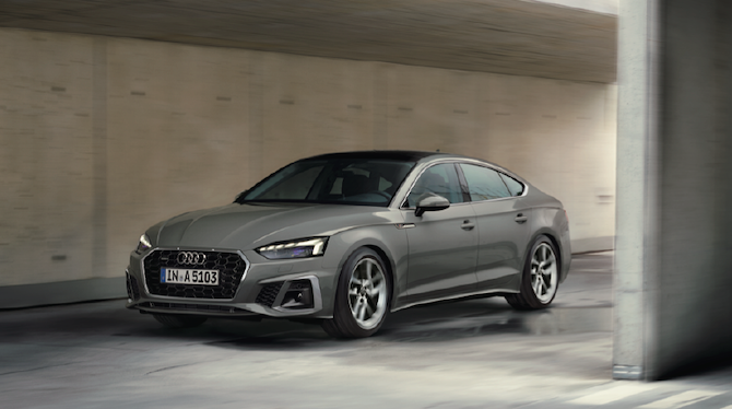 The new Audi A5